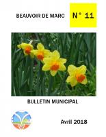 Bulletin Numéro 11