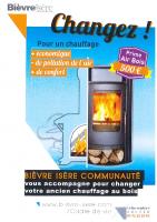 BIC Aide changement chauffage bois