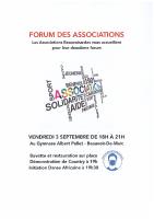 FORUM DES ASSOCIATIONS 03092021