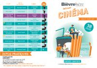 PLAQUETTE cine en plein air 2021